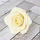 Заколки ручной работы. Шпильки с розами (крупные) - Айвори кремовый. Tanya Flower. Ярмарка Мастеров. Шпильки для невесты, украшение в волосы
