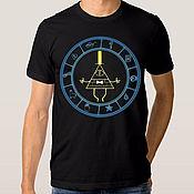 "Одежда handmade. Livemaster - original item Футболка с принтом ""Gravity Falls"". Handmade."