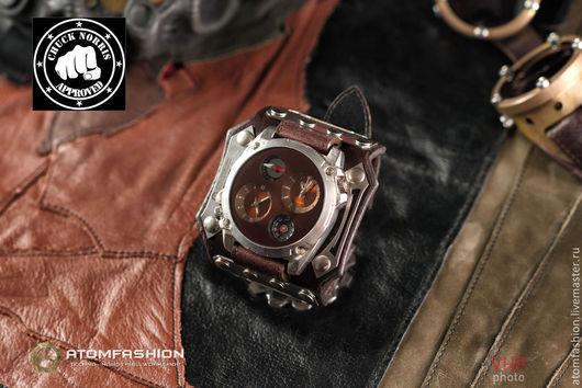 """Часы ручной работы. Ярмарка Мастеров - ручная работа. Купить Часы мужские """"Техно-рейнджер 3.0"""". Handmade. Часы"""