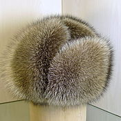 Аксессуары handmade. Livemaster - original item Ushanka raccoon fur and natures of the skin. Winter men`s hats. Handmade.