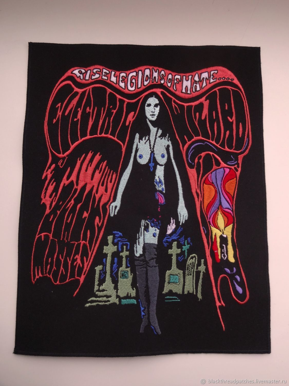 Electric Wizard backpatch, Patches, St. Petersburg,  Фото №1