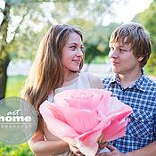 Свадебный салон ручной работы. Ярмарка Мастеров - ручная работа Бумажные розы для романтической фотосессии в пастельных тонах. Handmade.