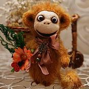Куклы и игрушки ручной работы. Ярмарка Мастеров - ручная работа Мальчик-обезьянчик по имени Чаки. Handmade.