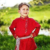 Русский стиль handmade. Livemaster - original item Russian folk costume for a boy. Handmade.