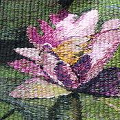 """Картины и панно ручной работы. Ярмарка Мастеров - ручная работа Гобелен """"Лотосы"""" (ручная работа). Handmade."""