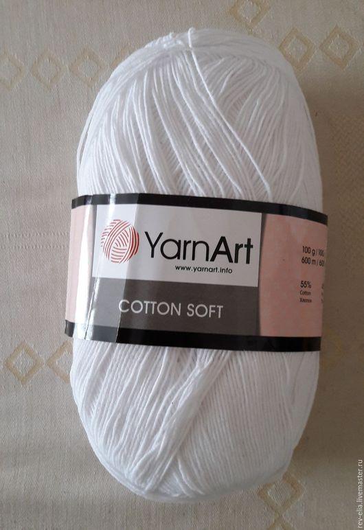Вязание ручной работы. Ярмарка Мастеров - ручная работа. Купить Пряжа Cotton Soft, YarnArt. Handmade. Комбинированный, Вязание крючком
