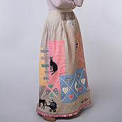"""Одежда ручной работы. Ярмарка Мастеров - ручная работа Юбка """"Масленица"""". Handmade."""