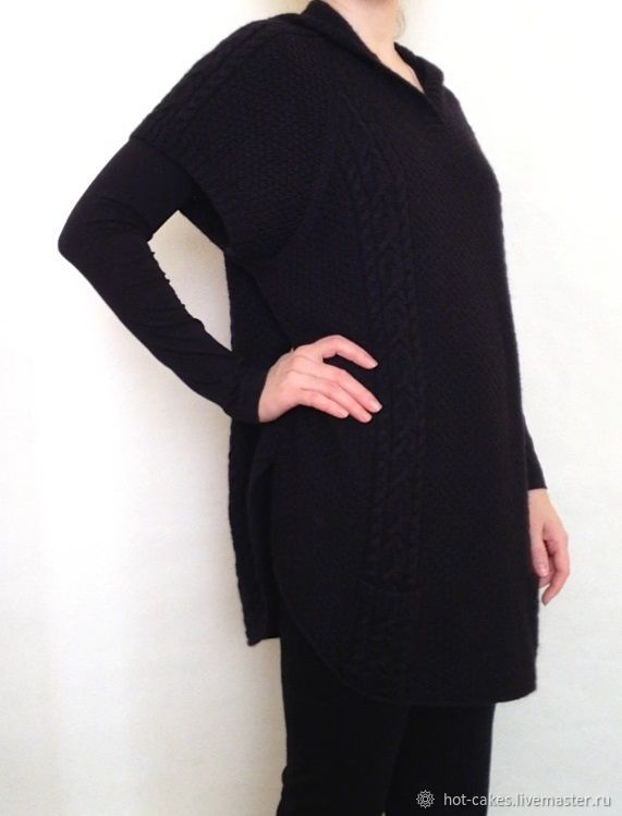 Пуловер с капюшоном, Пуловеры, Омск,  Фото №1