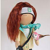 Куклы и игрушки handmade. Livemaster - original item Textile doll Ginger. Handmade.