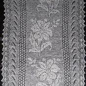 Аксессуары ручной работы. Ярмарка Мастеров - ручная работа Шарфик очень красивый и необычный из натурального пуха, пуховый платок. Handmade.