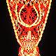 Интерьерные композиции ручной работы. Ярмарка Мастеров - ручная работа. Купить Подвесное кашпо Сердечко. Handmade. Ярко-красный