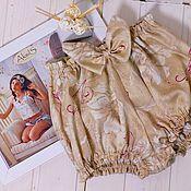 """Одежда ручной работы. Ярмарка Мастеров - ручная работа Шортики для дома """"Капучино"""". Handmade."""