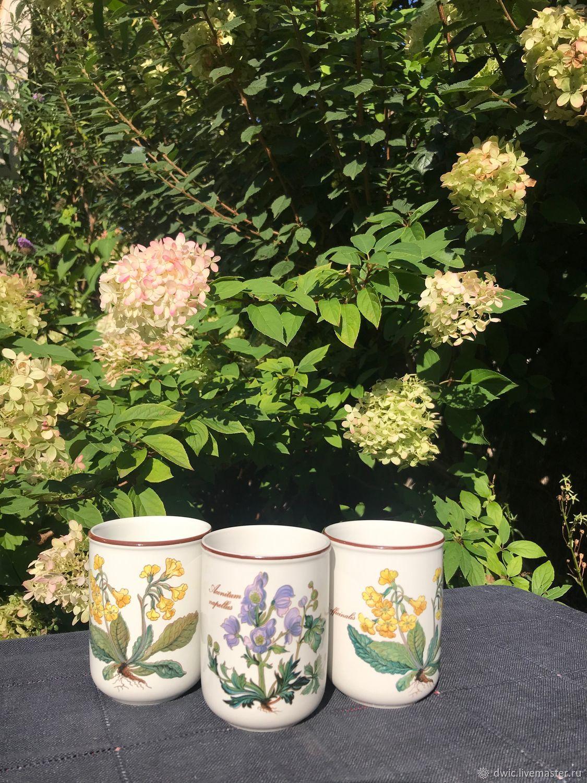 Cups for juice, compote, yogurt, Villeroy&Boch, Luxembourg, Vintage teapots, Arnhem,  Фото №1