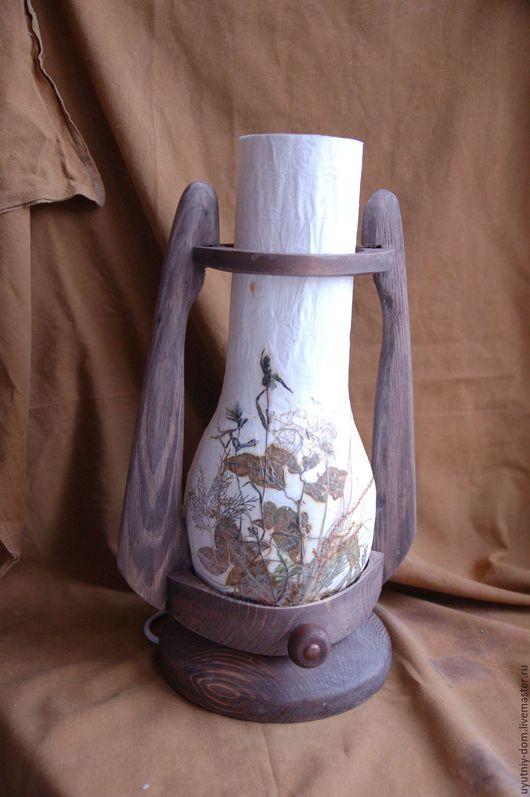Освещение ручной работы. Ярмарка Мастеров - ручная работа. Купить Светильник. Handmade. Свет, светильник, светильник из дерева