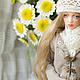 Коллекционные куклы ручной работы. Sunny, шарнирная кукла. Елена Акимова (Elena-Aki). Ярмарка Мастеров. Шарнирная, подарок подруге