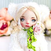 Куклы и пупсы ручной работы. Ярмарка Мастеров - ручная работа Николь тедди долл авторская кукла, интерьерная  кукла подарок любимой. Handmade.