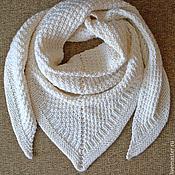 Аксессуары ручной работы. Ярмарка Мастеров - ручная работа Шаль-платок Зима в большом городе. Handmade.