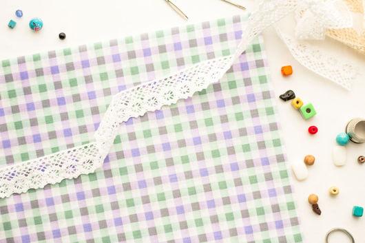 Хлопок 100%. Ткань для шитья, тильд, игрушек, квилтинга, пэчворка, скрапбукинга. Мягкий хлопок. Ткань для творчества. Ивановские ткани. Ситец. Бязь. Купить ткань. Хлопок, клеточка, пастель, клетка