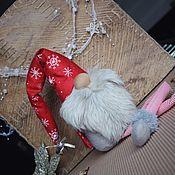 Подарки к праздникам ручной работы. Ярмарка Мастеров - ручная работа Новогодний Гном. Handmade.