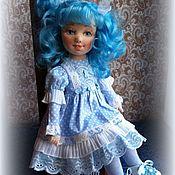 Куклы и пупсы ручной работы. Ярмарка Мастеров - ручная работа Текстильная кукла Мальвина. Handmade.