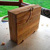 Для дома и интерьера ручной работы. Ярмарка Мастеров - ручная работа чемодан-упаковка. Handmade.