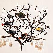 Для дома и интерьера ручной работы. Ярмарка Мастеров - ручная работа Винница настенная кованая (2 варианта). Handmade.