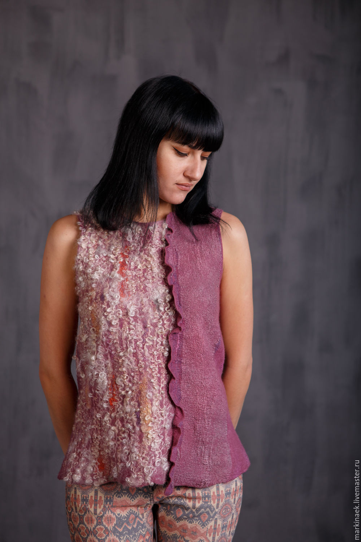 "Valyany blouse ""Amethyst"", Tops, Kamensk-Shahtinskij,  Фото №1"