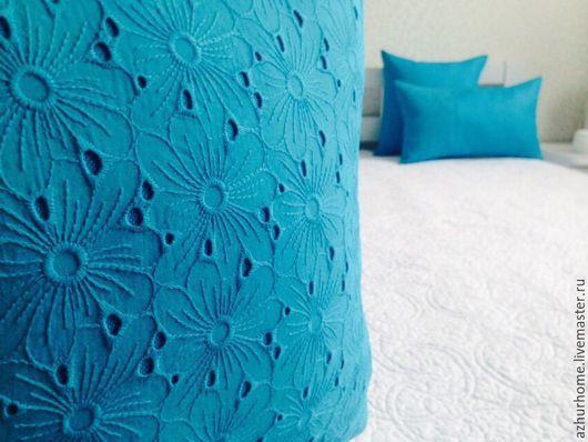 Текстиль, ковры ручной работы. Ярмарка Мастеров - ручная работа. Купить Подушки декоративные кружево+лен. Handmade. Подушка, домашний уют