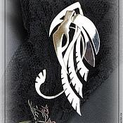 """Украшения ручной работы. Ярмарка Мастеров - ручная работа Кафф """"Совиная охота"""". Handmade."""