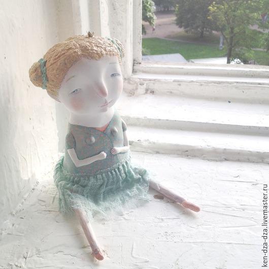 Коллекционные куклы ручной работы. Ярмарка Мастеров - ручная работа. Купить Принцесса. Handmade. Разноцветный, интерьерная кукла, джови, пастель