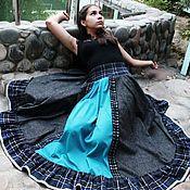 Одежда handmade. Livemaster - original item Stylish straukasa skirt