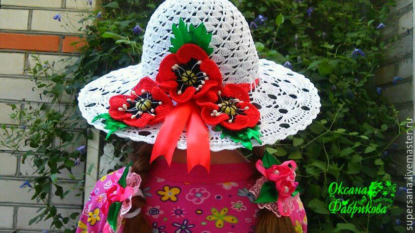 детская шляпка крючком купить в интернет магазине на ярмарке