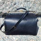 Сумки и аксессуары handmade. Livemaster - original item Bag leather Bon Voyage. Handmade.