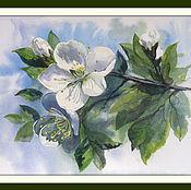 Картины и панно ручной работы. Ярмарка Мастеров - ручная работа Цветы вишни. Handmade.