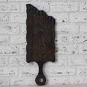 Для дома и интерьера handmade. Livemaster - original item Cutting Board Large Sword made of dark oak. Handmade.