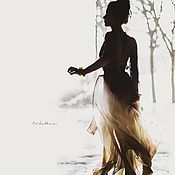 """Одежда ручной работы. Ярмарка Мастеров - ручная работа Платье """"Горные сумерки"""". Handmade."""