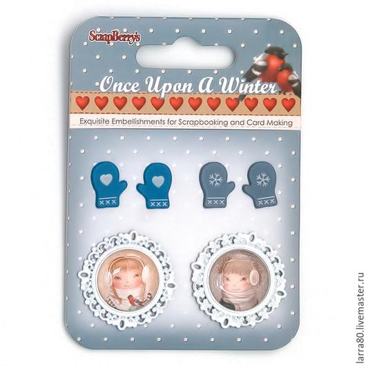 Куклы и игрушки ручной работы. Ярмарка Мастеров - ручная работа. Купить Набор украшений SCB3409100 Однажды зимой 5. Handmade.