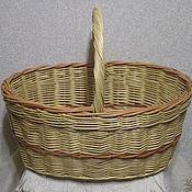 Для дома и интерьера handmade. Livemaster - original item The mushroom basket, woven from vines. Handmade.