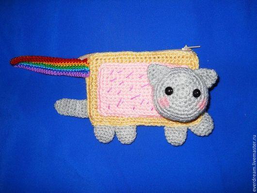 Сказочные персонажи ручной работы. Ярмарка Мастеров - ручная работа. Купить Мастер класс по вязанию Кота Няна Nyan Cat. Handmade.