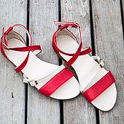 Обувь ручной работы handmade. Livemaster - original item Women`s Nicole leather sandals. 15% discount.. Handmade.