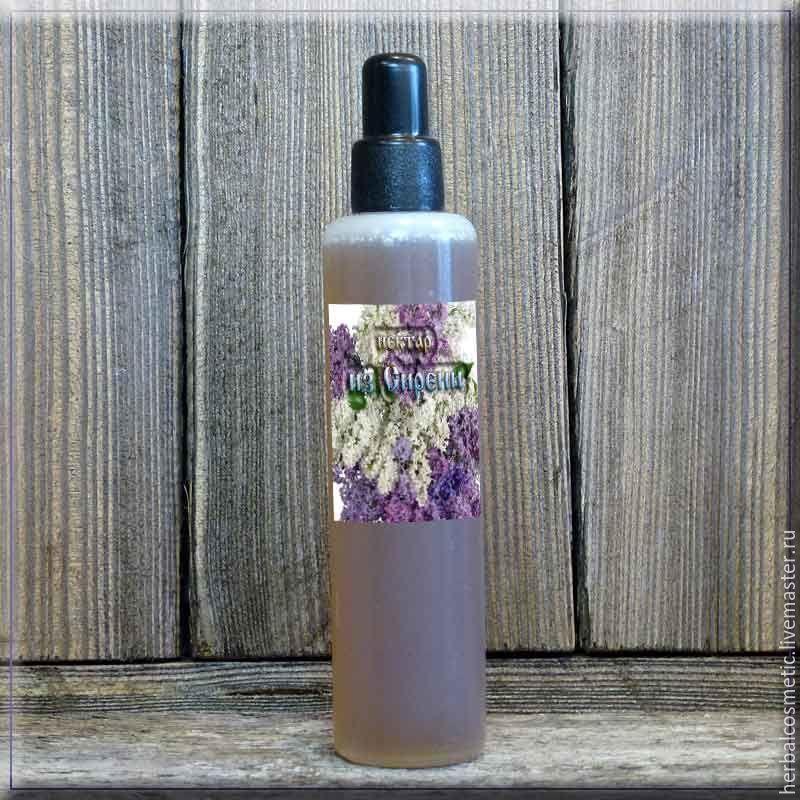 Нектар из соцветий Сирени, фасовка 100 мл. ПЭТ флакон с дозатором капельницей