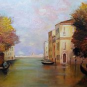 Pictures handmade. Livemaster - original item Oil painting Venice