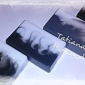 """Косметика ручной работы. Ярмарка Мастеров - ручная работа Мыло со свирлами """"День и ночь"""". Handmade."""