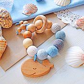 """Куклы и игрушки handmade. Livemaster - original item Прорезыватель """"Китёнок"""". Handmade."""