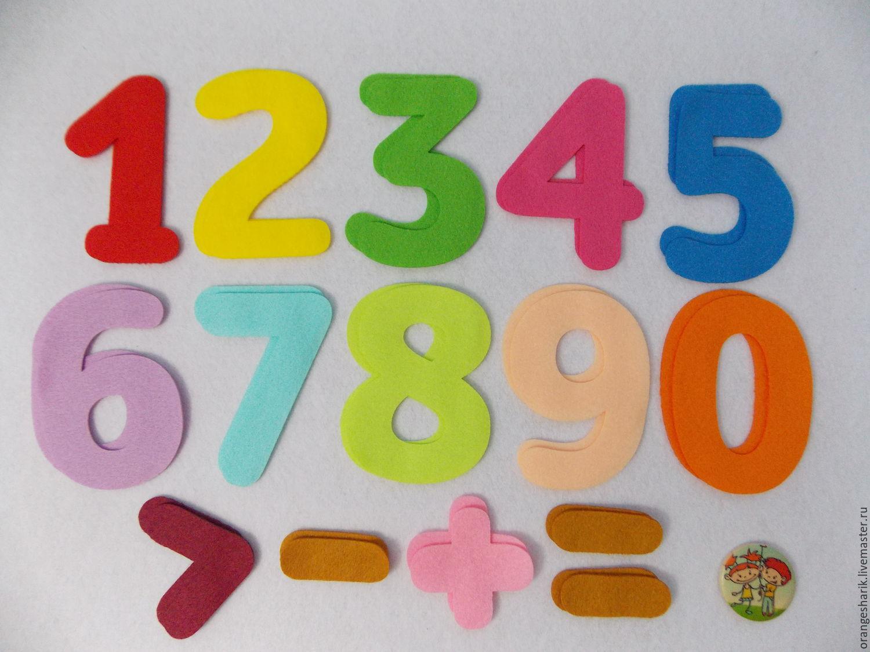 Шаблоны цифры своими руками