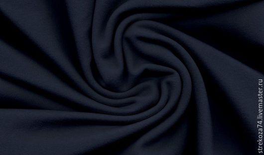 """Шитье ручной работы. Ярмарка Мастеров - ручная работа. Купить Кашкорсе """"Темно-синее"""". Handmade. Кашкорсе, начес, детям, полоски"""