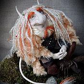"""Куклы и игрушки ручной работы. Ярмарка Мастеров - ручная работа """"Лесной тролль""""- авторская текстильная кукла. Handmade."""