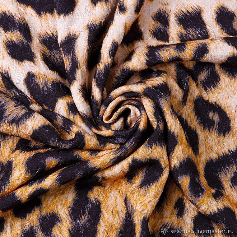 Леопардовая Фукра (фактурная ткань), Ткани, Воронеж, Фото №1