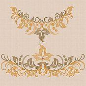 "Материалы для творчества handmade. Livemaster - original item Machine Embroidery Design Set ""Autumn Waltz"" bt038. Handmade."
