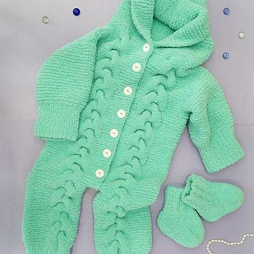 Одежда ручной работы. Ярмарка Мастеров - ручная работа Комбинезон для малышей. Handmade.